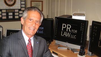 Richard Lavinthal, nationally know legal PR consultant at PRforLAW, LLC